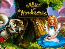 Онлайн слот Алиса В Стране Чудес